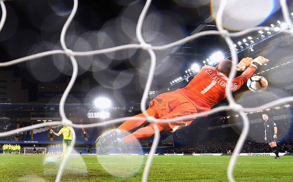 Willy Caballero Chelsea Penalty Save