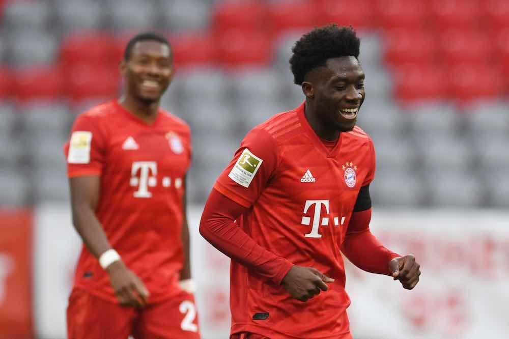 Alphonso Davies Bayern 1 05-20