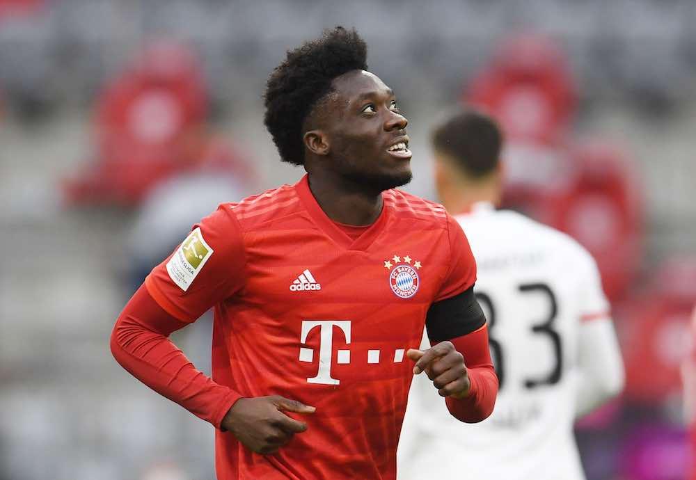 Alphonso Davies Featured Bayern