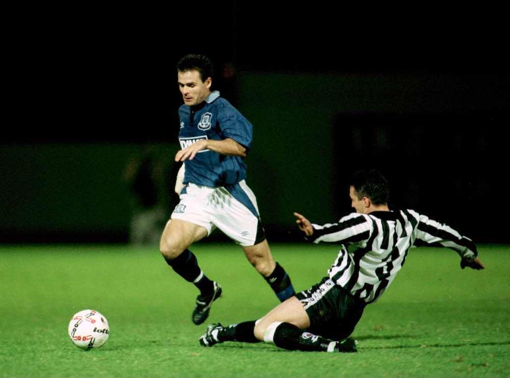 Anders Limpar Everton
