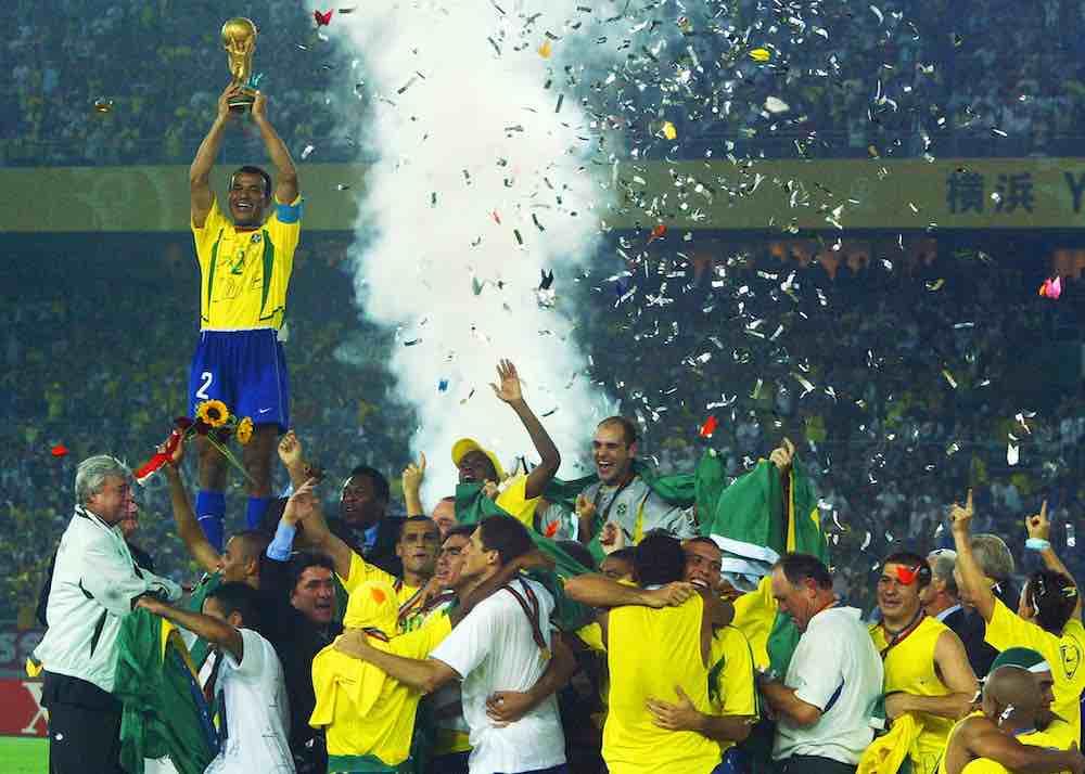 Cafu Brazil 2002 World Cup Trophy