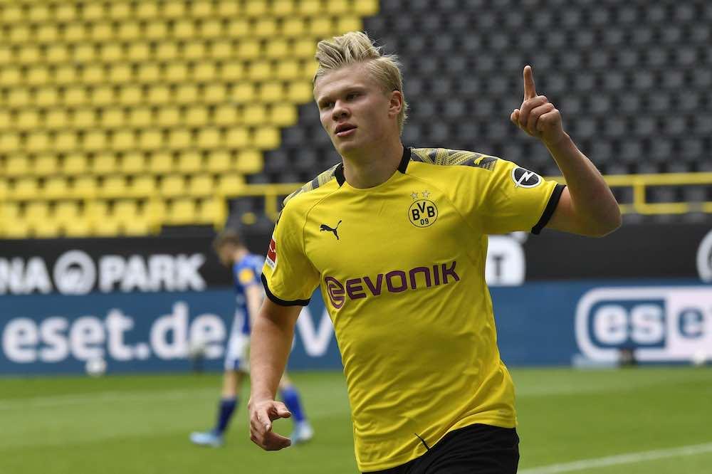 Haaland Dortmund Schalke