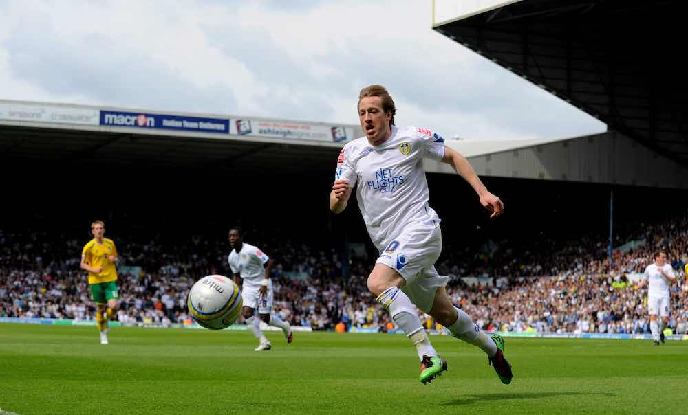 Luciano Becchio Leeds 2009 Milwall