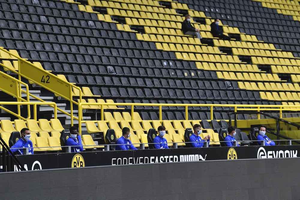 Substitutes Stands Bundesliga Dortmund