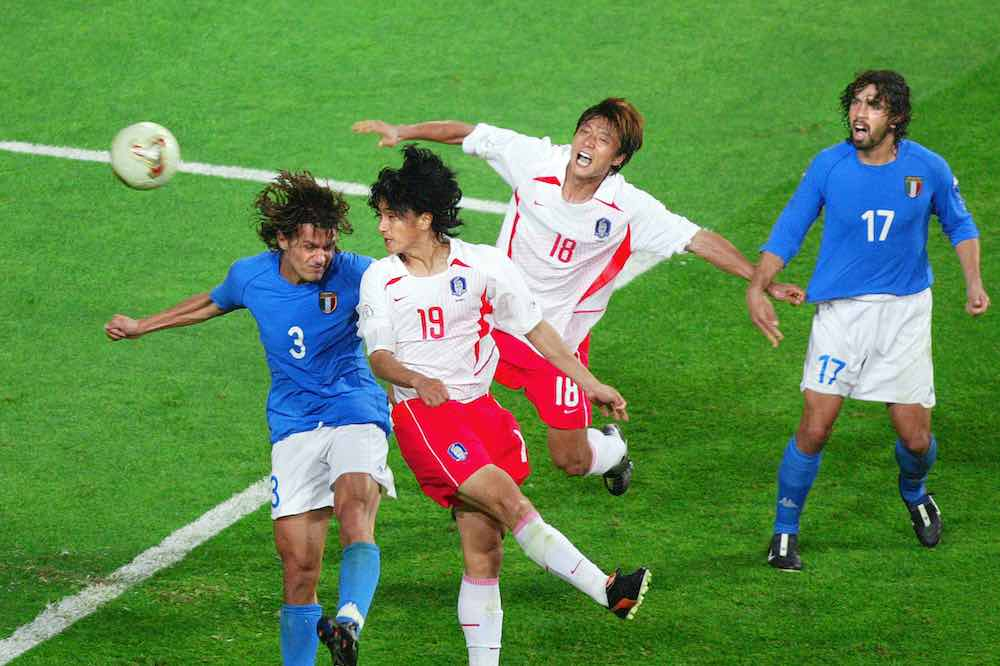 ahn jung-hwan Paolo Maldini 2002 Korea Italy