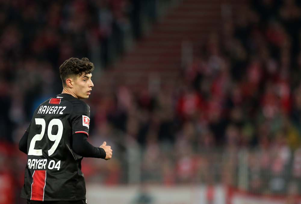 kai havertz leverkusen