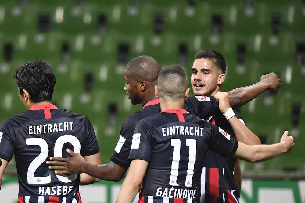 André Silva Showing Great Form For Frankfurt At The Right Time