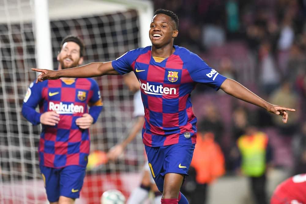 Ansu Fati Steps Up For Barcelona Alongside Lionel Messi