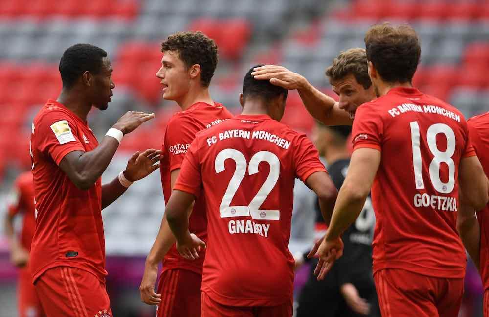 Bayern Dusseldorf 06-20