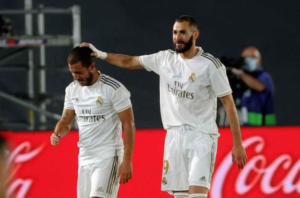 Benzema Hazard Real