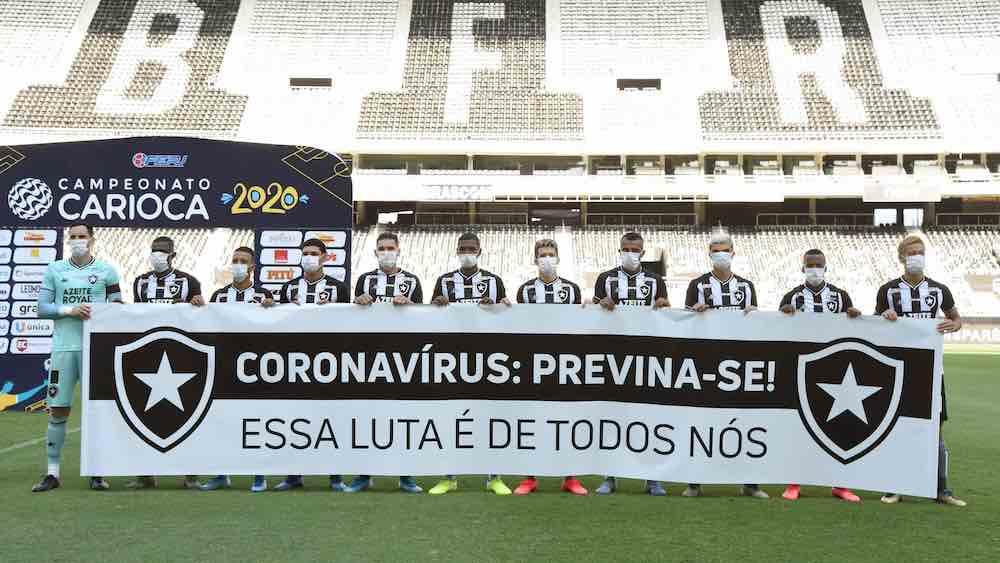 Botafogo Coronavirus Closed Doors