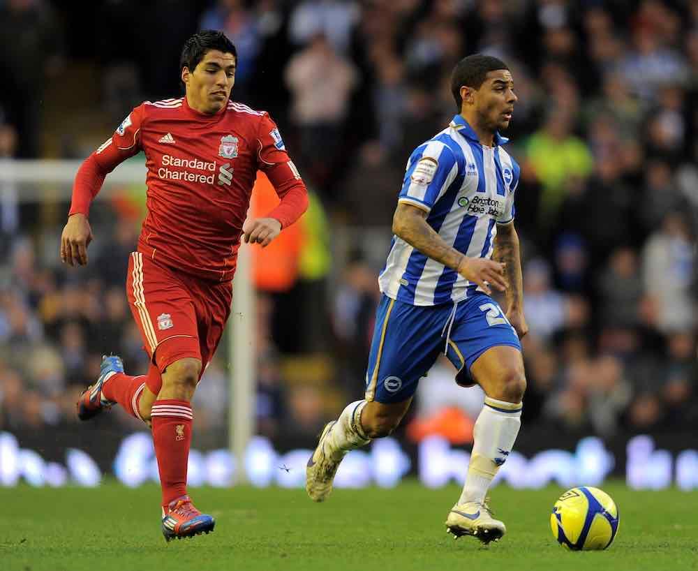 Bridcutt Suarez Liverpool Brighton