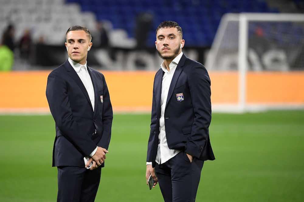 Caqueret and Cherki Suits Lyon OL
