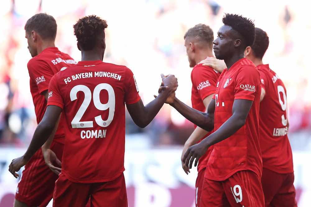 Coman Davies Bayern