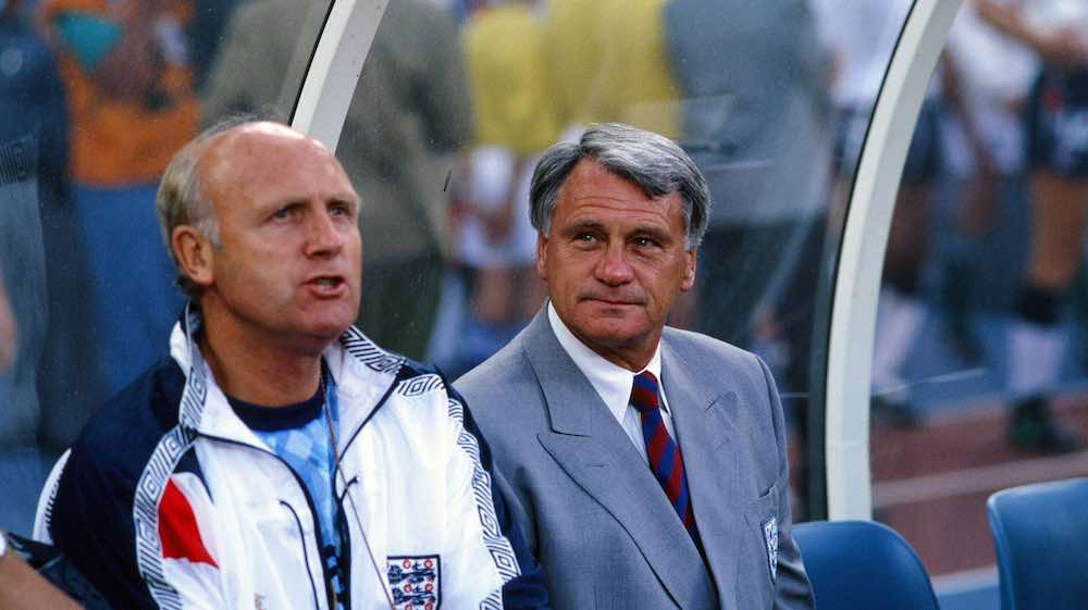 Don Howe Bobby Robson England