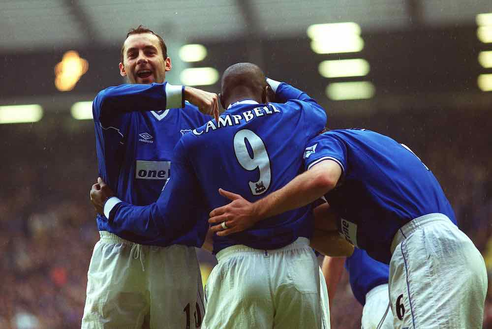 Don Hutchison Kevin Campbell Everton