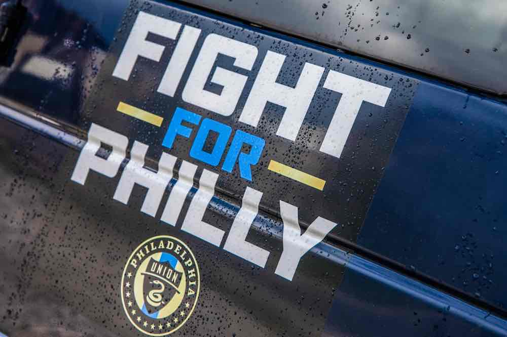 Fight For Philly Logo Philadelphia Union