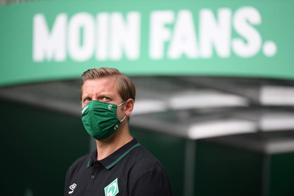 Florian Kohfeldt Werder Bremen Mask