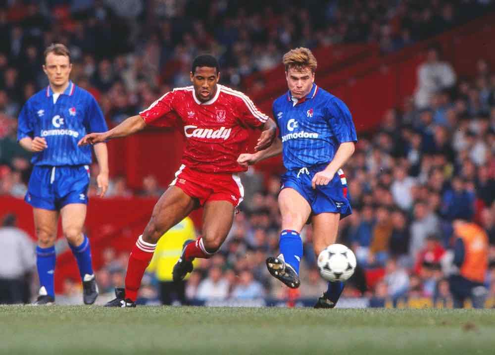 Gareth Hall Chelsea John Barnes Liverpool