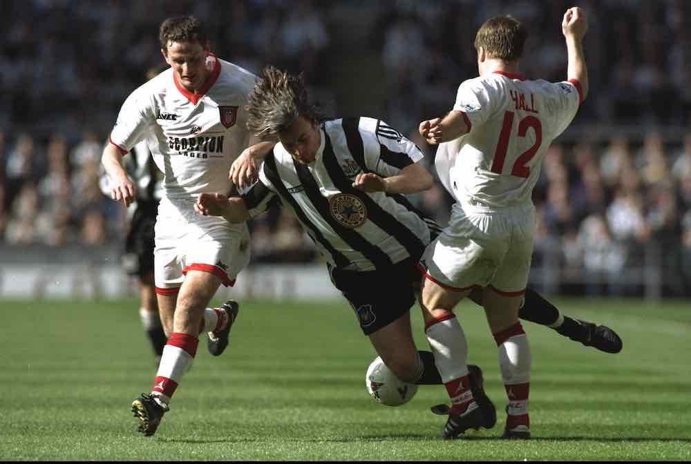 Gareth Hall Sunderland Ginola Newcastle