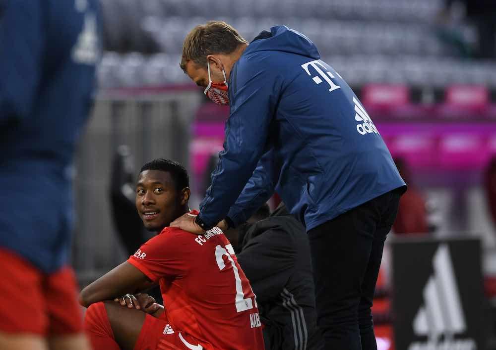 Hansi Flick Alaba Bayern