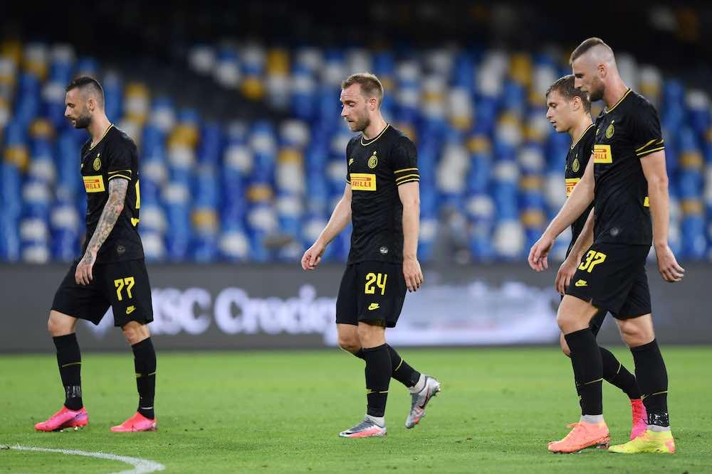 Inter Milan Players Coppa Eriksen