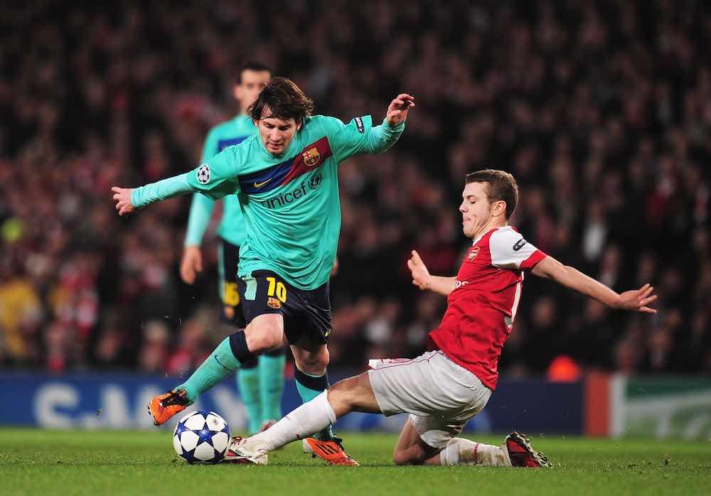 Jack Wilshere Lionel Messi