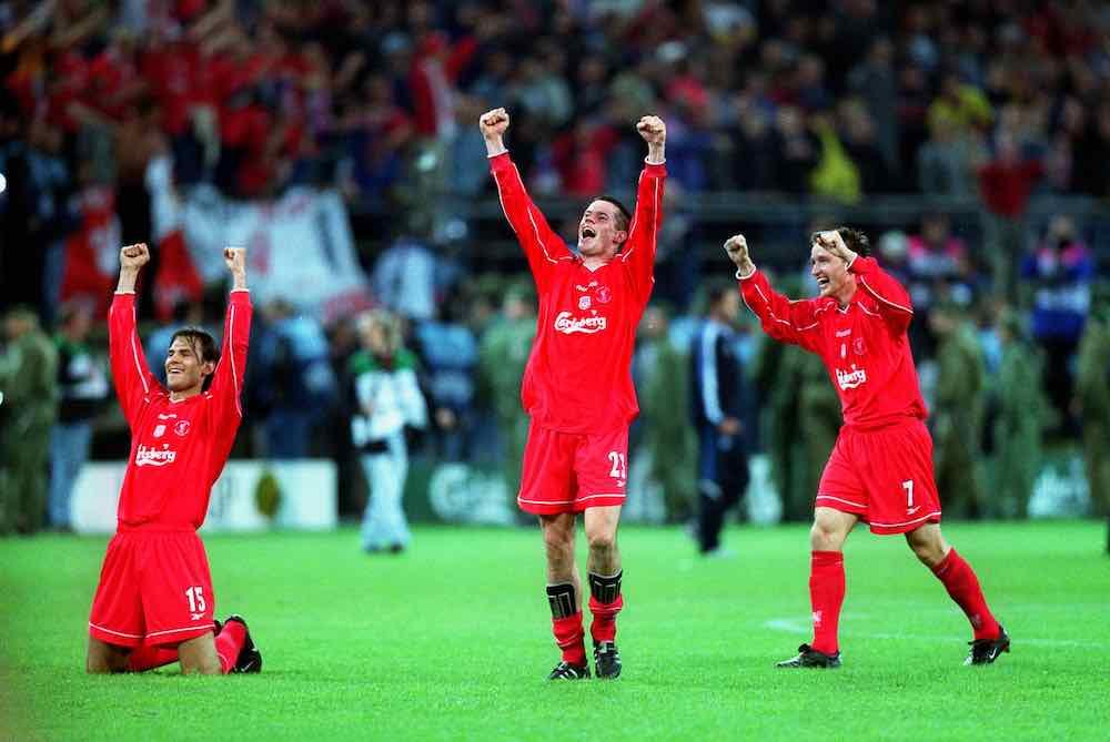 Jamie Carragher Liverpool 2001