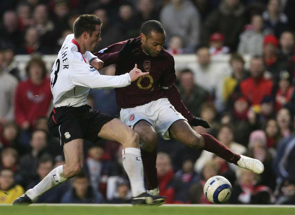 Jamie Carragher Thierry Henry