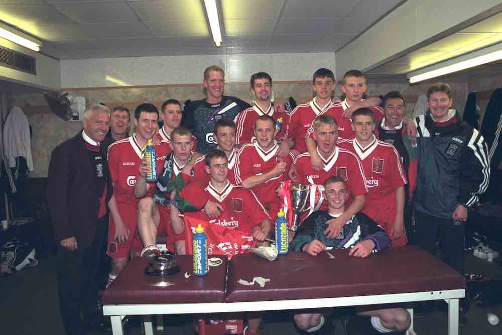 Jamie Carragher steve Heighway Liverpool Youth Michael Owen