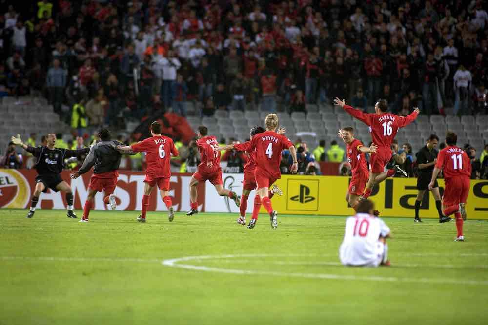 Liverpool Istanbul Celebrate