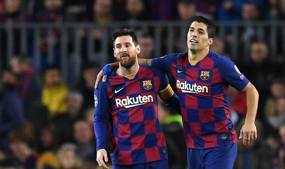 Luis Suarez Lionel Messi 06-20