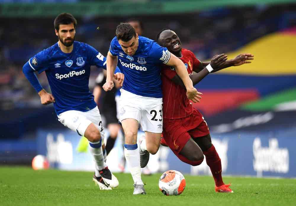 Seamus Coleman Everton Liverpool