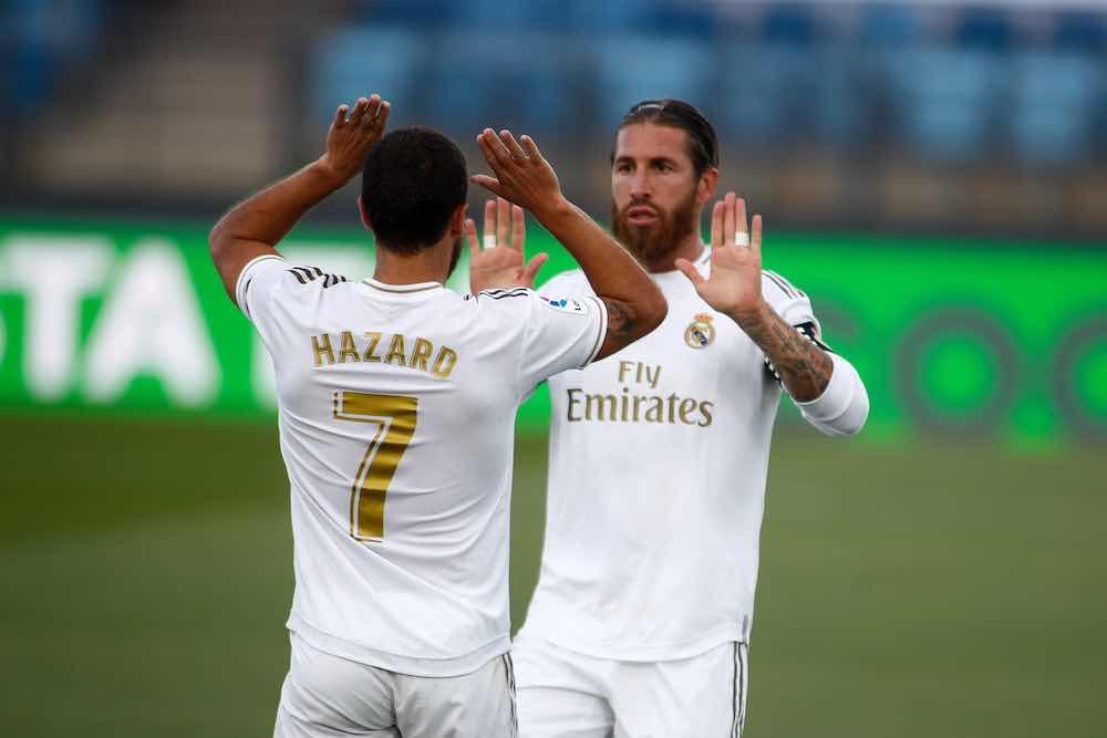 Sergio Ramos Eden Hazard.