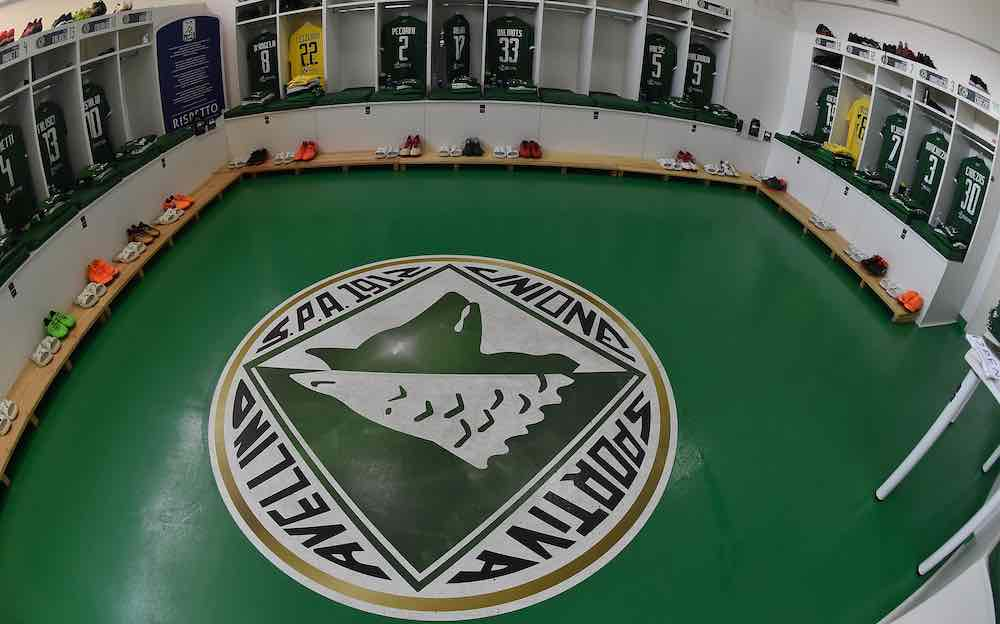 US Avellino dressing room