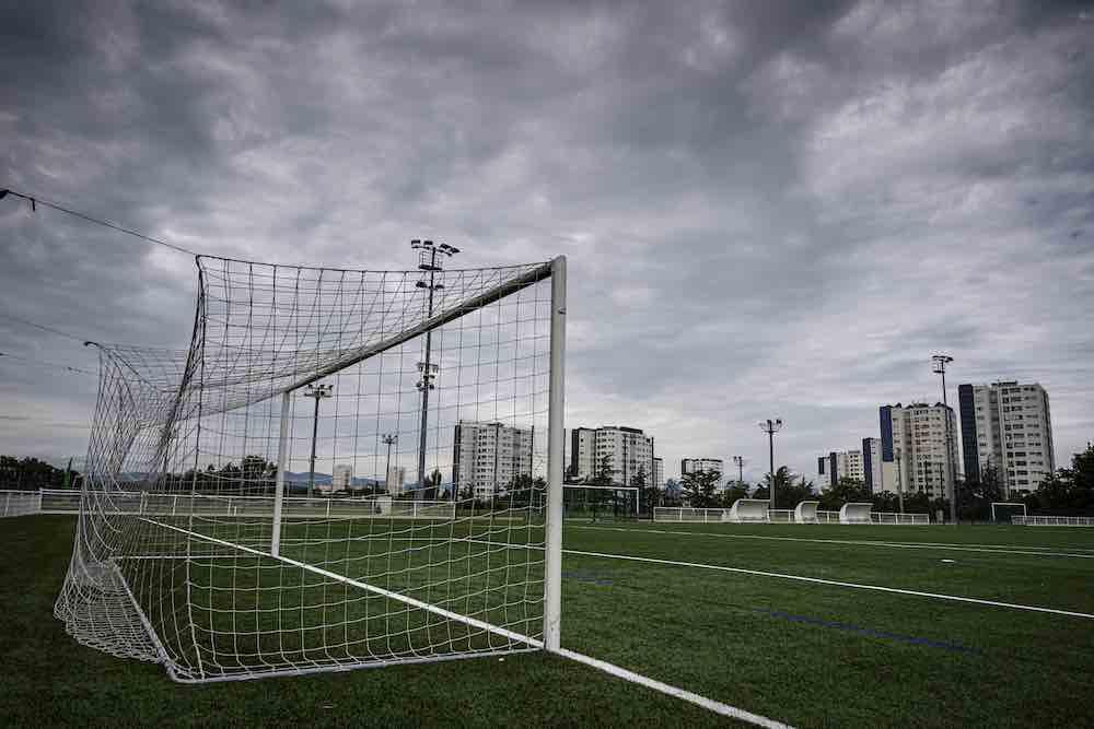 Venissieux Lyon Football goals nets