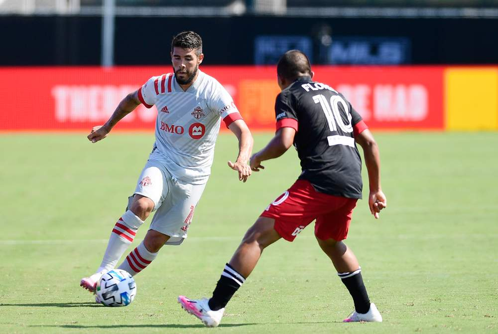 Toronto FC 2-2 DC United: Brillant's Late Header Steals Point For 10-Man Black And Red Side