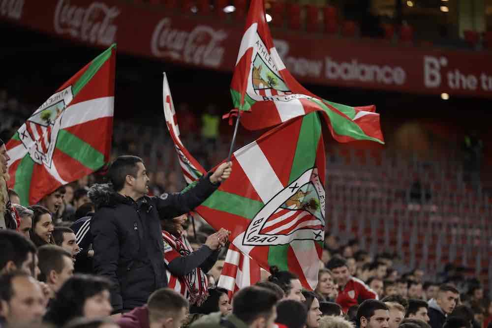 Athletic club bilbao fans Ikurrina Flag
