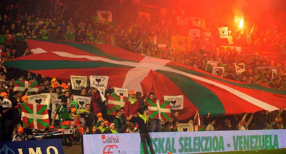 Basque Football team Ikurrina Flag 2015