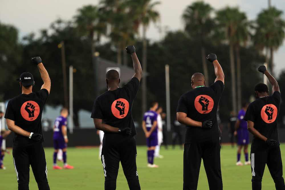 Black Lives Matter MLS Orlando
