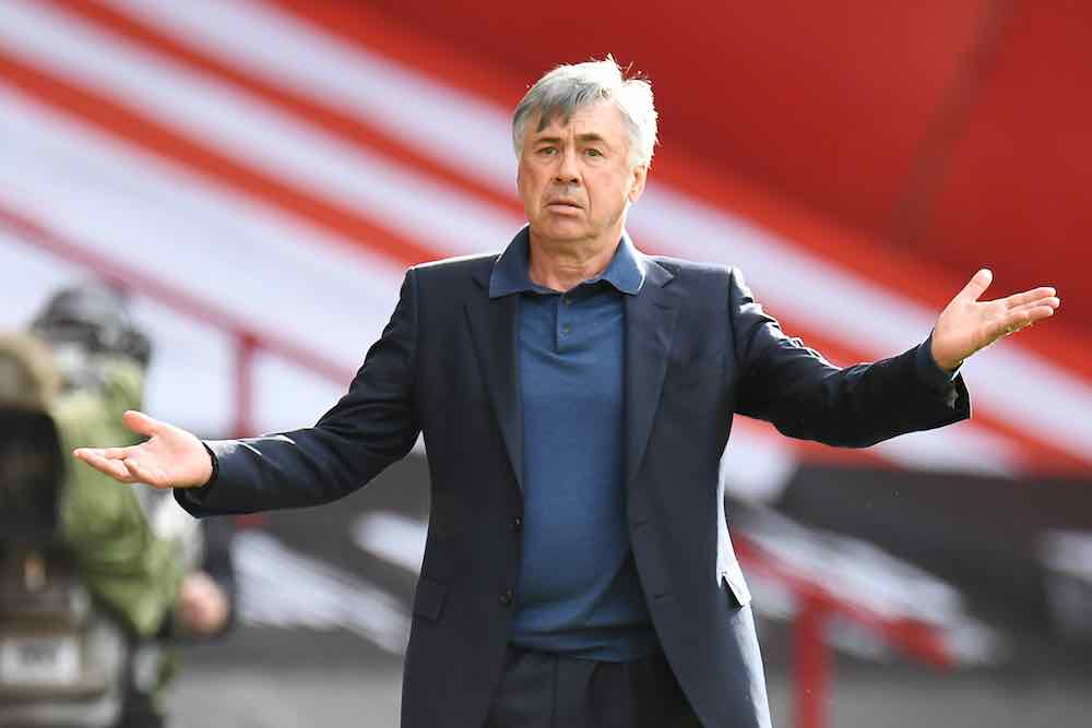 Carlo Ancelotti Everton 07-20