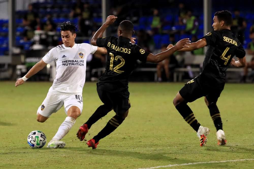 Cristian Pavon - LA Galaxy - LAFC - 19-07-2020.