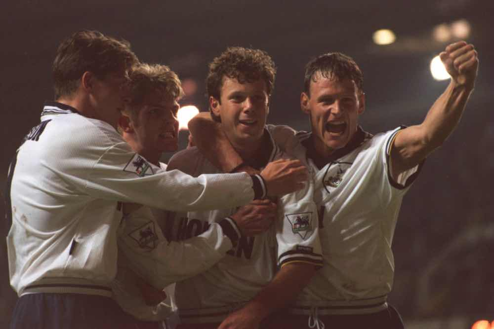 David Howells Teddy Sheringham Spurs