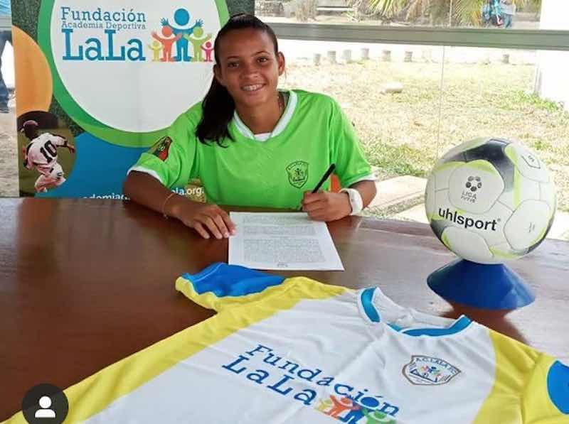 Dianny Perez Venezuela Womens LALA FC
