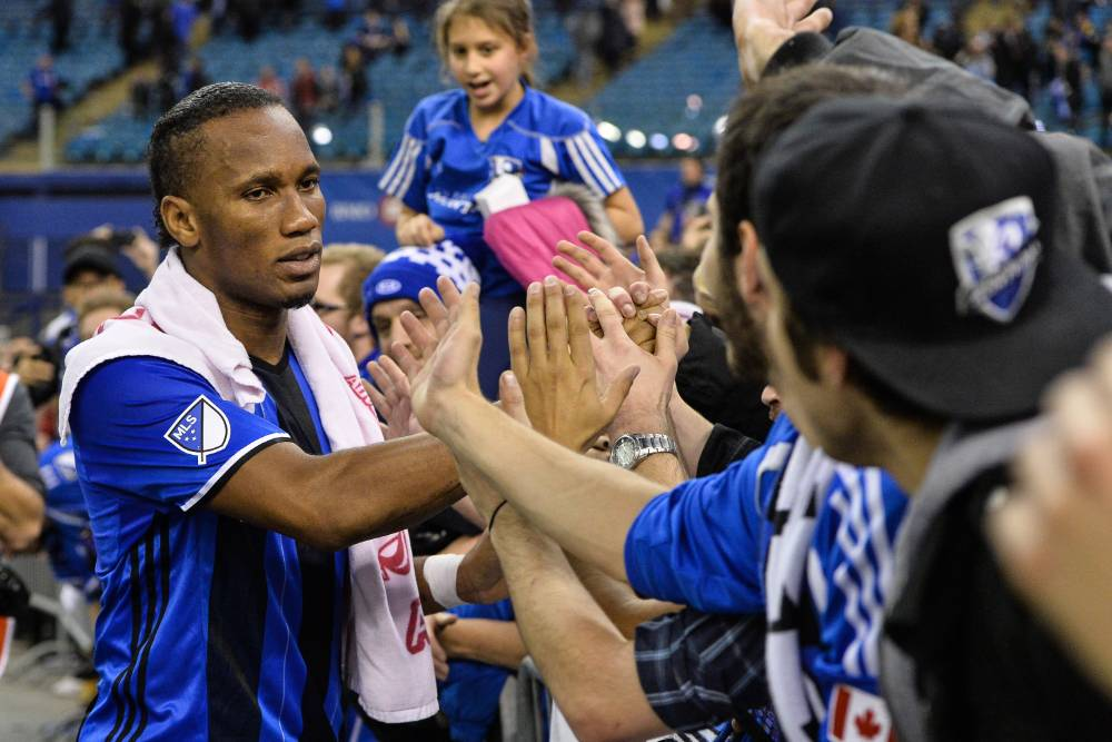 Montreal Impact Coach Jason DiTullio Working With Didier Drogba And Youth Development