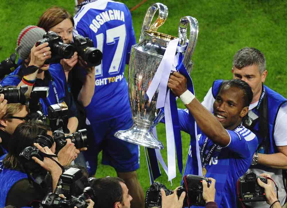 Drogba Chelsea 2012 Champions League Final