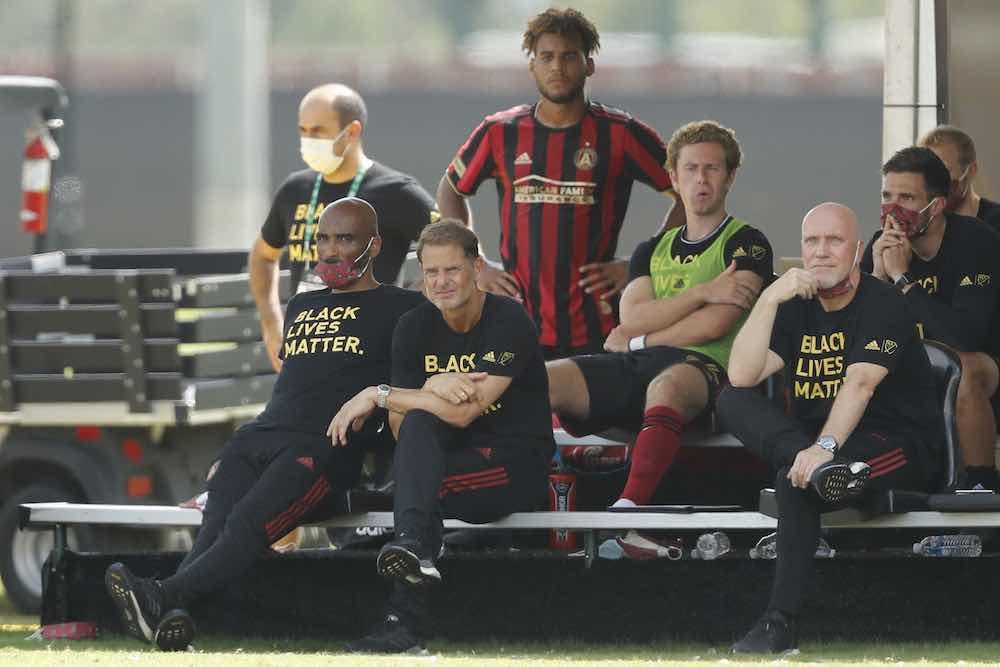 Frank De Boer Atlanta United MLS is Back Bench