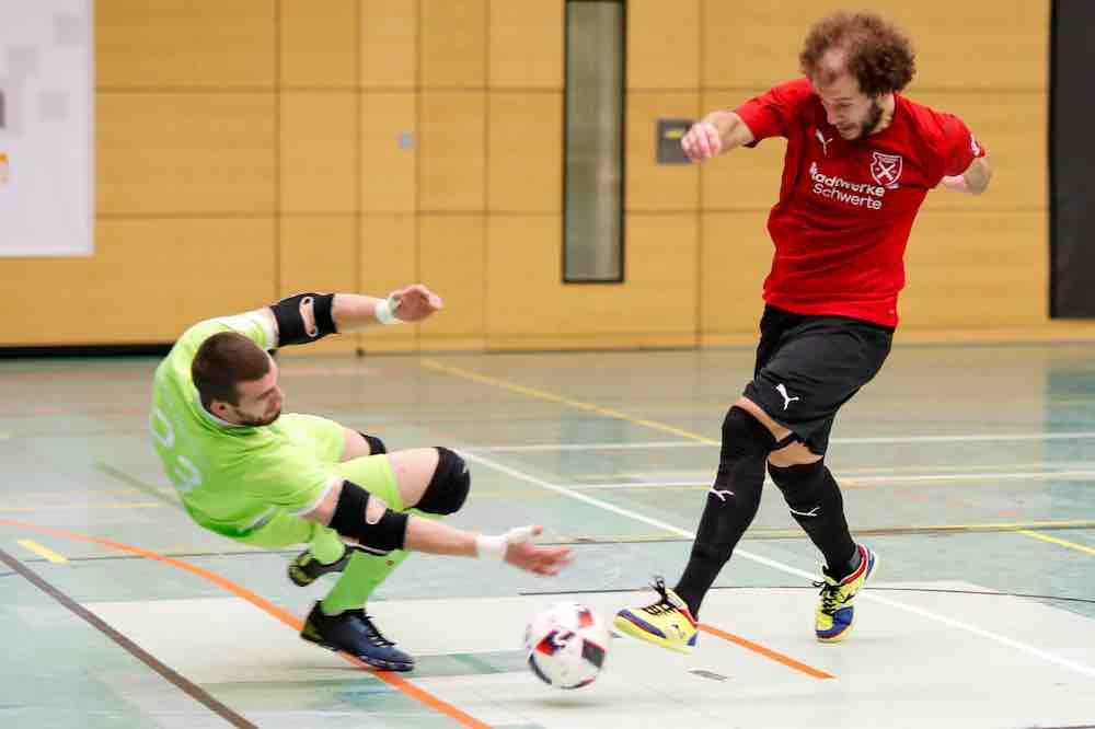 Futsal action