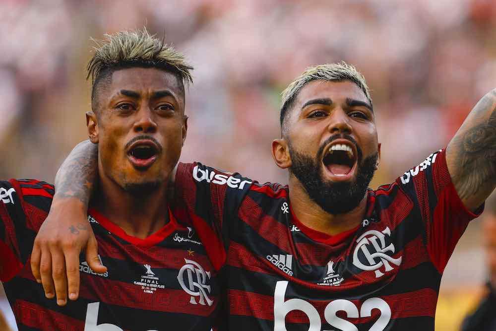 Bruno Henrique and Gabriel Flamengo