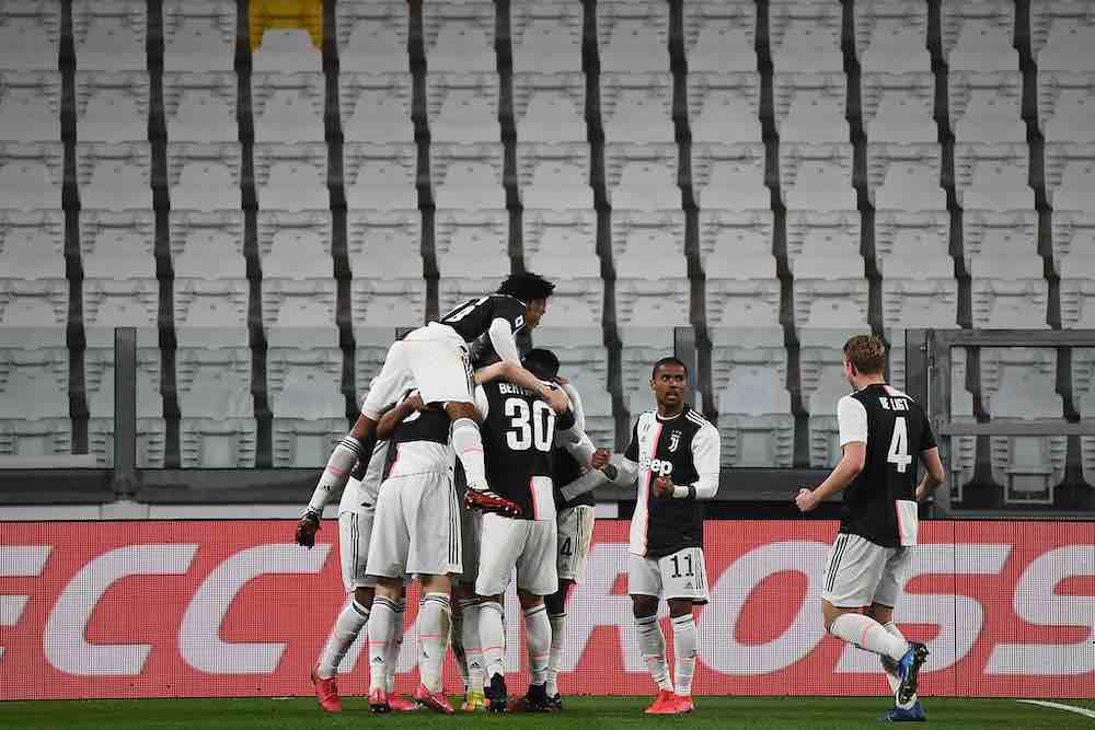 Juventus Stadium Celebrations